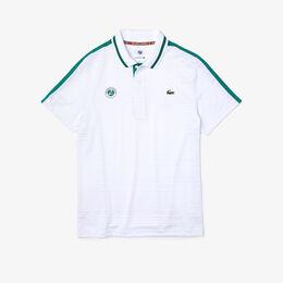 『ROLAND GARROS』 ショルダーラインドライポロシャツ ポロシャツ白