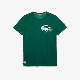 『ROLAND GARROS』 ビッググラフィックTシャツ ティーシャツ緑
