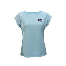 BUTTON GAME SHIRTS ボタンゲームシャツ青
