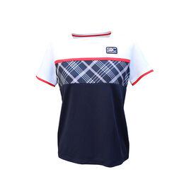SQUARE NECK SHIRTS スクエアネックゲームシャツ紺