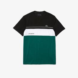 テクニカルカプセルカラーブロッキングTシャツ ティーシャツ黒
